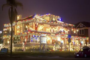 San Diego Christmas 2019 San Diego's Best Map of Christmas Lights