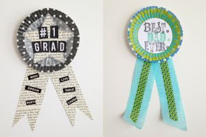 Dads and Grads Badges