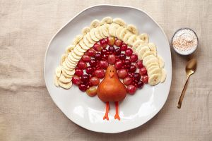 Healthy Thanksgiving Snack for Kids
