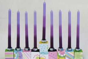 Art with Alyssa: DIY Menorah Craft