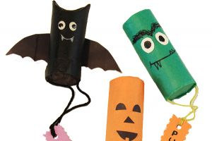 Art with Alyssa: Mini Halloween Piñatas