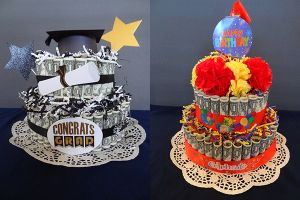 How to Make a Graduation or Birthday Money Cake