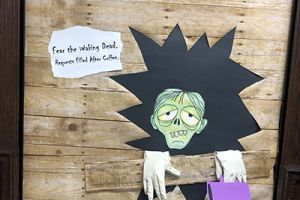Halloween Door Decorations for Families
