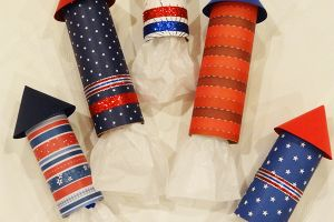 4th of July Rocket Party Favors