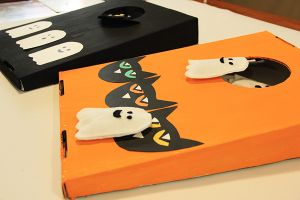 Art with Alyssa: Halloween Tabletop Cornhole