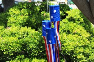 Art with Alyssa: Stars & Stripes Windsocks